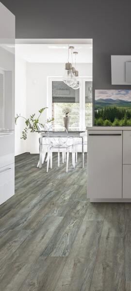 luxury vinyl kitchen | Tish flooring