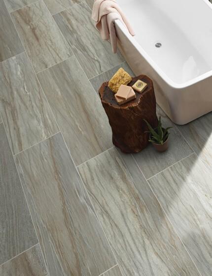 tile in bathroom    TISH FLOORING