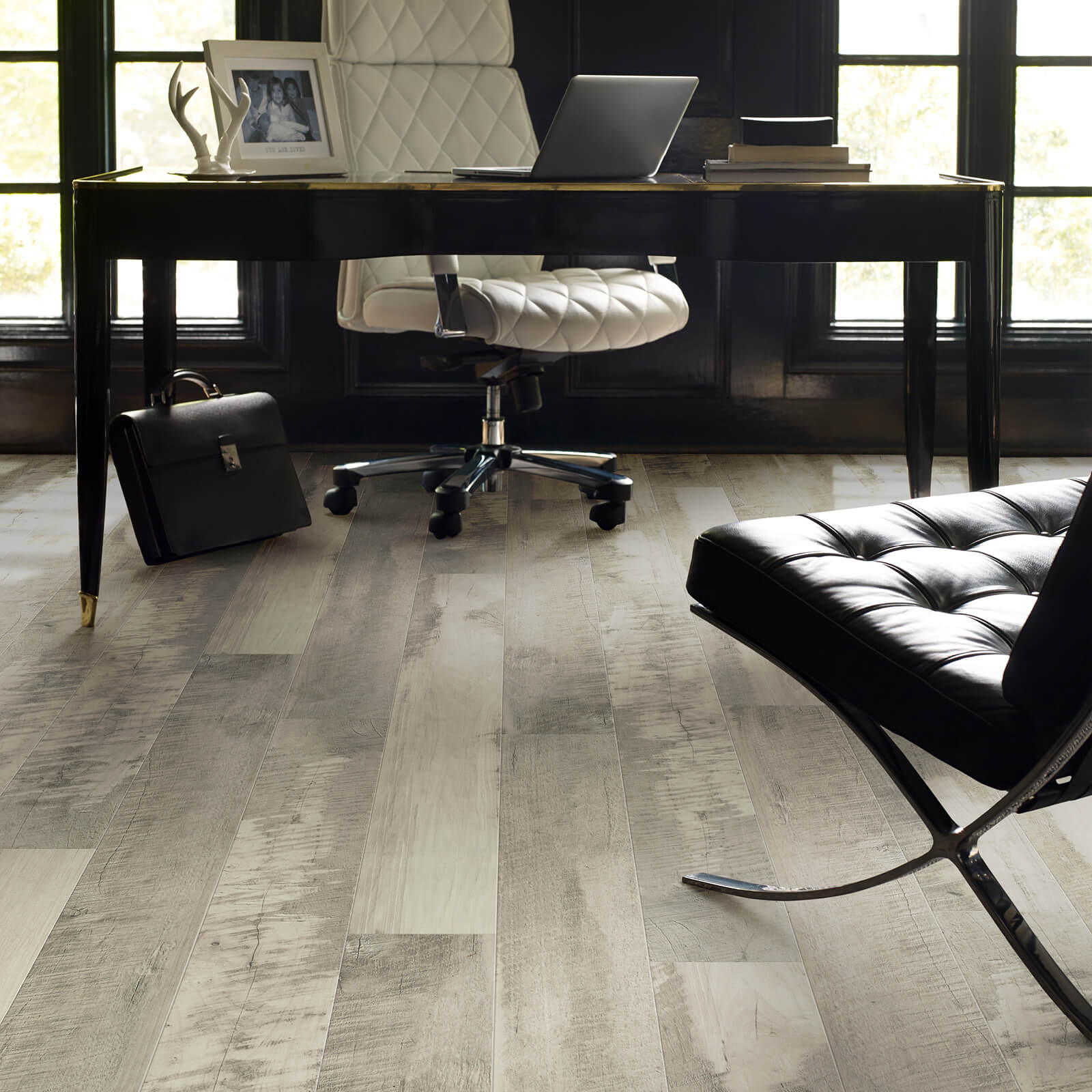 Laminate in a Home Office | Tish flooring