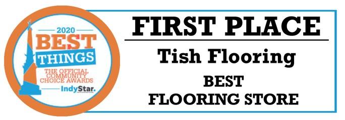 tish flooring first place logo | Tish flooring