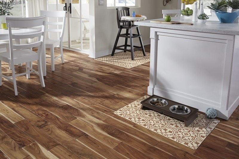 luxury vinyl plank is the perfect low maintenance flooring option