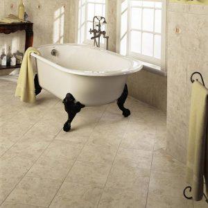 Roman tiled bath