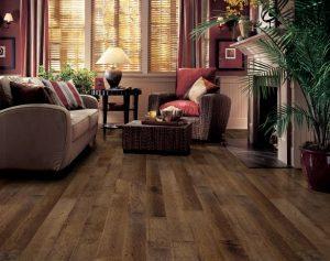 Distressed Maple  Hardwood Floor