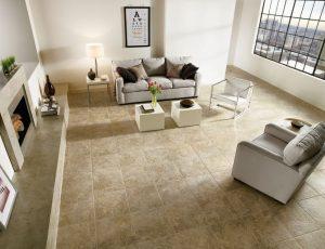 Luxury Vinyl Flooring looks like stone