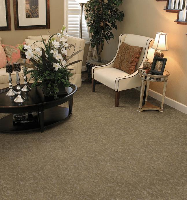 Short Pile Pattern Carpet