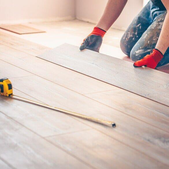 hardwood install | Tish flooring