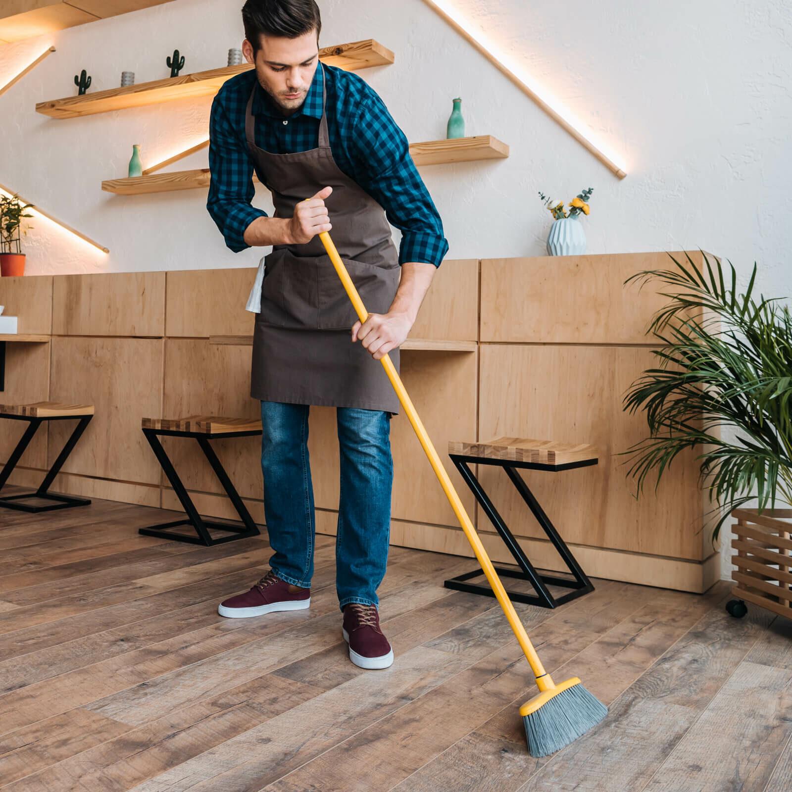 sweeping harwood | Tish flooring