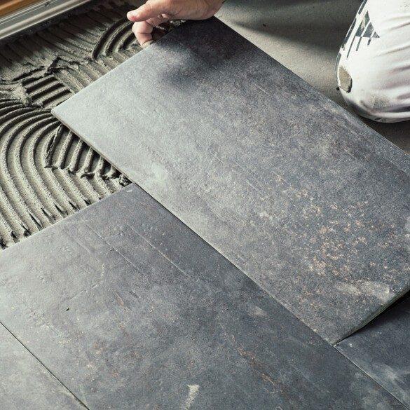 tile installation   Tish flooring